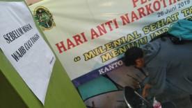 Cegah Corona, Kantor Kelurahan Semaki Sediakan Sabun Cuci Tangan Bagi Pengunjung